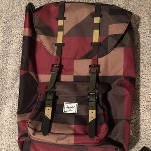 Herschel color patterned walker backpack